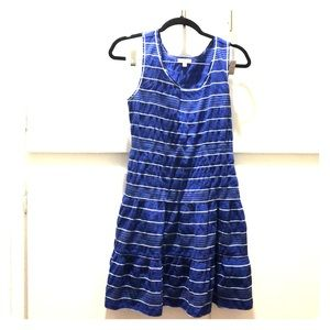 Max Studio Striped Tank Dress